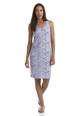 - Bedrucktes Jersey-Kleid