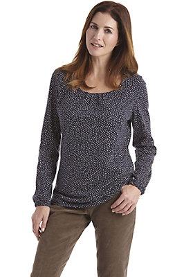 damen-neuheiten-herbst-kollektion-2014 - Bedrucktes Shirt aus Bio-Baumwolle