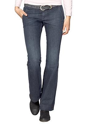 Hosen - Bellbottom-Jeans aus Bio-Baumwolle