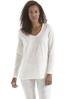 damen-neuheiten-herbst-kollektion-2014 - Biesenshirt aus reiner Bio-Baumwolle