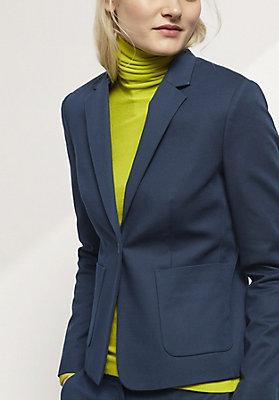 - Blazer aus Bio-Baumwolle
