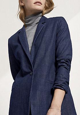 - Blazer aus reiner Bio-Baumwolle
