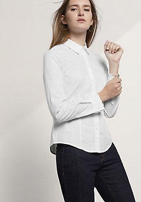 - Bluse Modern Fit aus reiner Bio-Baumwolle