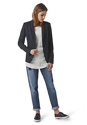 - Bluse aus Modal und Bio-Baumwolle