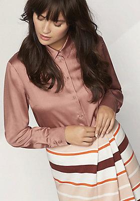 - Bluse aus reinem Modal