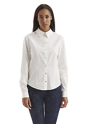herbst-basics - Bluse aus reiner Bio-Baumwolle