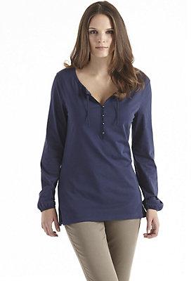 damen-neuheiten-herbst-kollektion-2014 - Bluse aus reiner Bio-Baumwolle