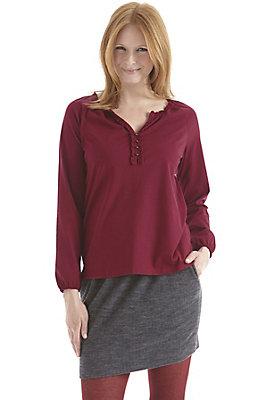 Blusen - Bluse aus reiner Bio-Baumwolle