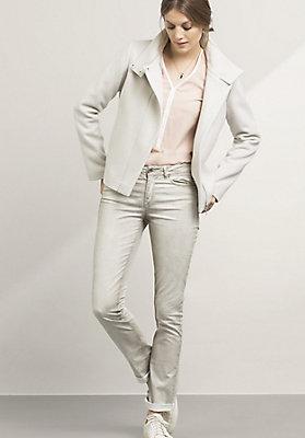 - California Straight Fit Jeans aus Bio-Baumwolle