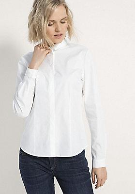 - Damen Basic-Bluse aus Bio-Baumwolle