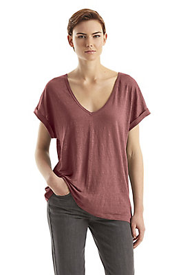 - Damen Casual-Shirt aus Leinen