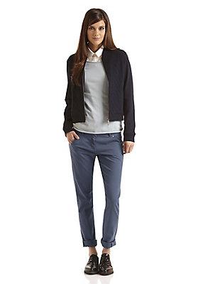 - Damen Chino Hose Regular Fit aus Bio-Baumwolle