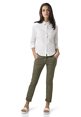 - Damen Chino Hose Regular Fit aus Bio-Baumwolle