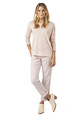 - Damen Hose Comfort Fit aus Bio-Baumwolle und Hessen-Leinen