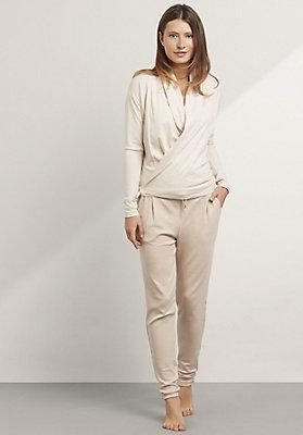 - Damen Jacke aus Bio-Baumwolle mit Schurwolle