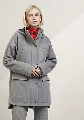 - Damen Jacke aus reiner Schurwolle