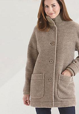 - Damen Jacke aus reiner Schurwolle vom Rhönschaf