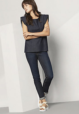 - Damen Jeans Slim Fit aus Bio-Denim