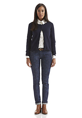 - Damen Jeans Straight Fit Blue Orchid aus Bio-Denim