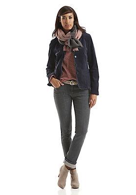 - Damen Jeans Straight Fit aus Bio-Denim
