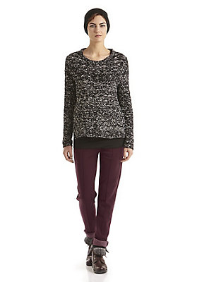 - Damen Jersey-Hose aus Bio-Schurwolle mit Bio-Baumwolle