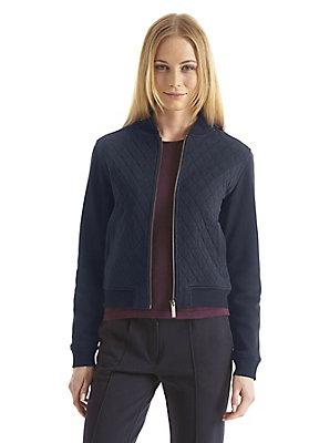 - Damen Jersey-Jacke aus reiner Bio-Baumwolle