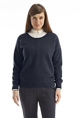 - Damen Lambswool-Pullover aus reiner Schurwolle
