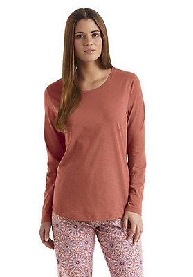 - Damen Langarm-Shirt aus reiner Bio-Baumwolle