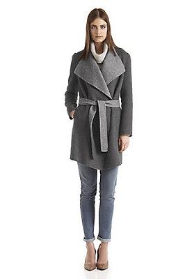 - Damen Mantel aus Alpaka mit Schurwolle