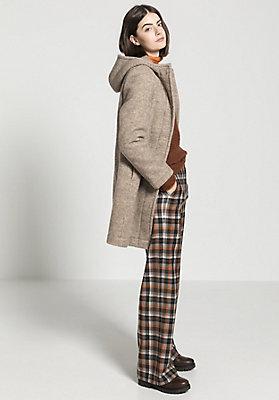 - Damen Mantel aus reiner Schurwolle vom Rhönschaf