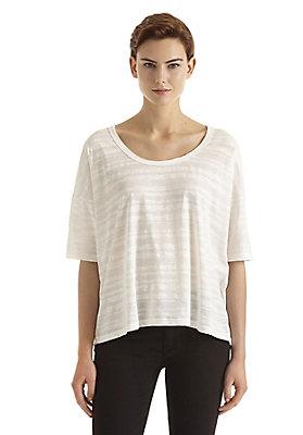 - Damen Maxi-Shirt aus reiner Bio-Baumwolle