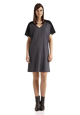 - Damen Patch-Kleid aus reiner Bio-Baumwolle
