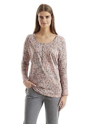 - Damen Pünktchen-Shirt auf reiner Bio-Baumwolle