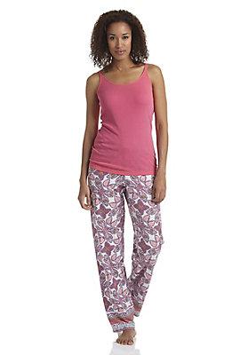 - Damen Pyjama-Hose aus reiner Bio-Baumwolle
