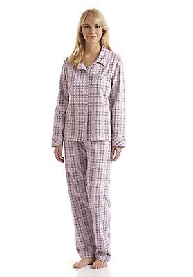 - Damen Pyjama aus reiner Bio-Baumwolle