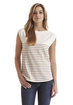 - Damen Ringelshirt aus reiner Bio-Baumwolle