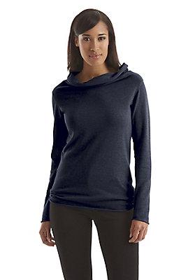 - Damen Rollkragen-Pullover aus reiner Bio-Baumwolle