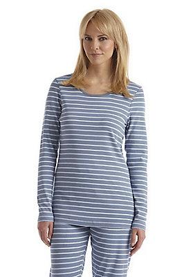- Damen Schlafshirt aus reiner Bio-Baumwolle