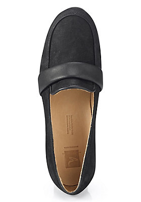 - Damen Slipper aus Leder
