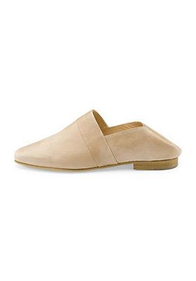 - Damen Slipper aus Leder