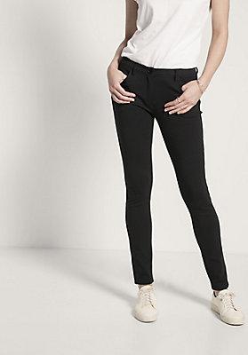 - Damen Stretch-Hose aus Bio-Baumwolle