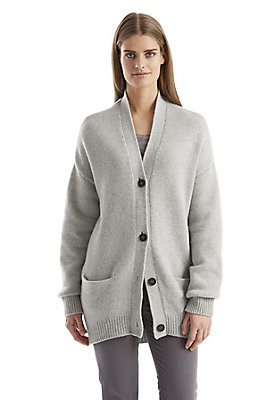 - Damen Strickjacke aus recycled Cashmere