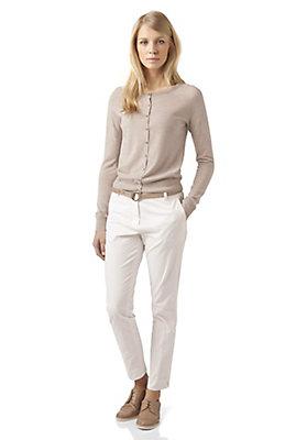 - Damen Strickjacke aus reiner Bio-Merinowolle