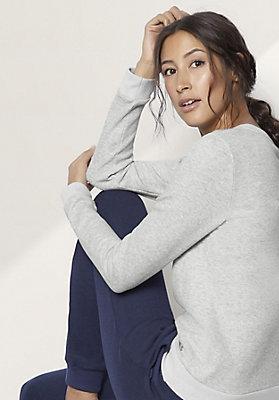 - Damen Sweatshirt aus reiner Bio-Baumwolle