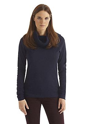 - Damen Turtelneck-Shirt aus reiner Bio-Baumwolle