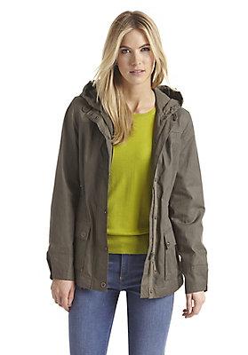 - Damen Wachsjacke aus reiner Bio-Baumwolle