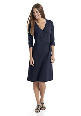 Kleider - Damen-Wickelkleid aus reiner Bio-Baumwolle