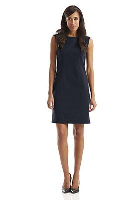 neu-damen-bekleidung - Etui-Kleid aus Bio-Baumwolle