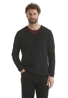 - Feinstrick Pullover aus reiner Bio-Baumwolle