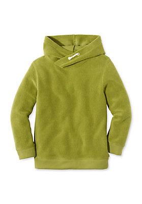 - Fleece Hoody aus reiner Bio-Baumwolle